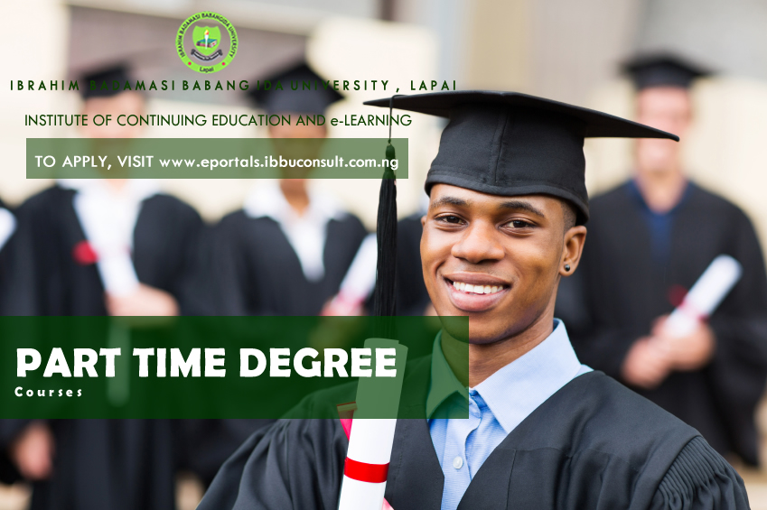 Online Application into our Part-time Degree School is on